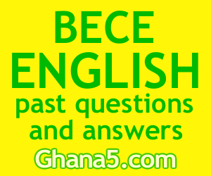 Link to Waec BECE junior high English past questions, answers and tutorials.